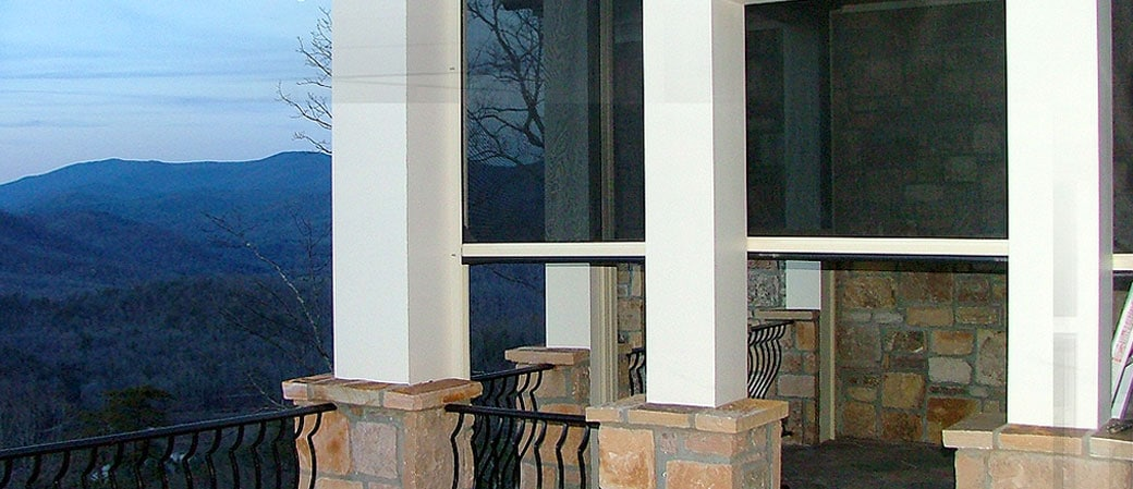 retractable screen doors for large openings