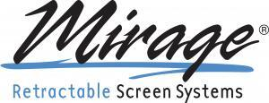 Mirage Retractable Screens Logo